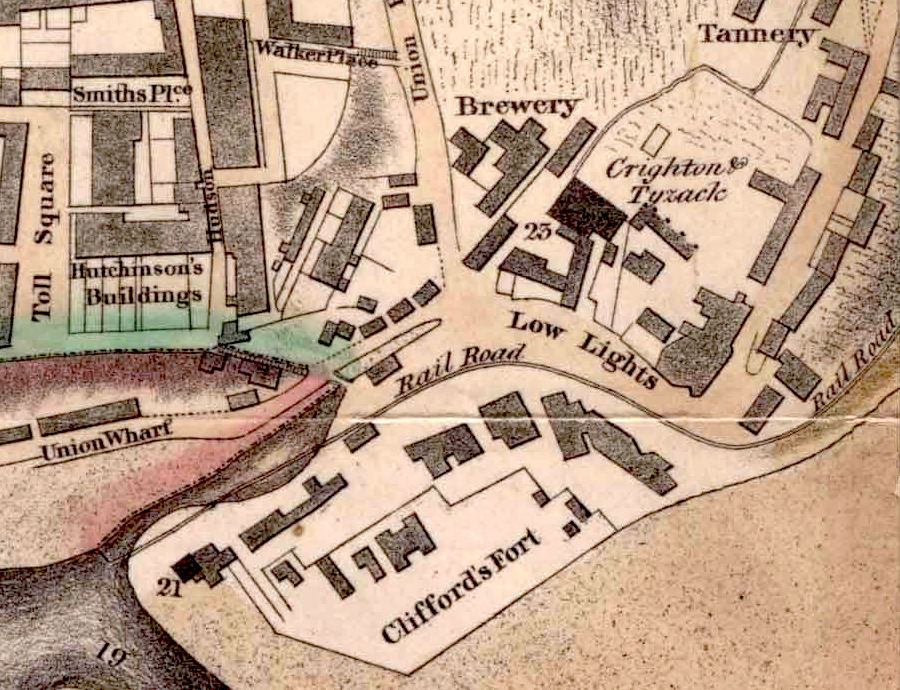 Wood's Plan 1826 - North Shields - crop of waggonway at Low Lights - reduced for forum.jpeg